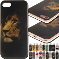 For Apple iPhone 7/8 TPU Rubber Cover Soft Back Skin Protective Shockproof Case