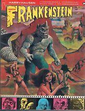 Castle of Frankenstein #19 Ray Harryhausen Clockwork Orange Hammer Films 1972