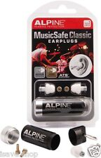 Alpine MusicSafe Classic Reusable Earplugs Musician Concert Hearing Protection