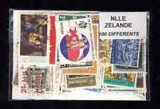 Nouvelle Zélande - New Zeland 100 timbres différents