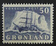 Greenland #35 Mlh. Vf centering. $52.50 Cv.