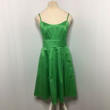David's Bridal Green Spagetti Strap Short Dress, Size 6