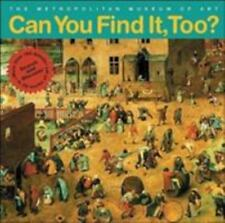 Can You Find It, Too?: Search and Discover More Than 150 Details in 20-ExLibrary