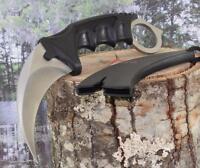 Silver Karambit Hawkbill Claw Dagger Military Tactical Survival Neck Knife