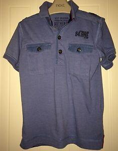 Boys Age 5 (4-5 Years) Next Blue Polo Shirt