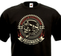 Tee Shirt CHOPPER - Custom Motorcycle Biker Rider Indian Harley Davidson