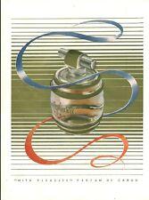 Publicité ancienne parfum de Caron With Pleasure 1951 issue de magazine