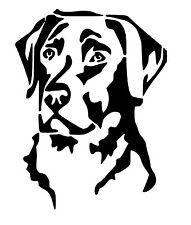 Labrador Small vinyl car Decal / Sticker