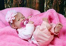 MY DARLING BABY GIRL REBORN BERENGUER PREEMIE LIFELIKE REBORN DOLL W PACI BOTTLE