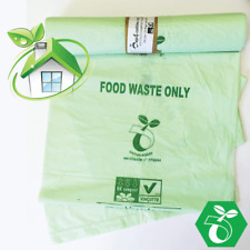 Large Compostable Caddy Bags | 30L | 1 roll | 20 Bags | Food Waste Bags