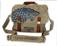 "Game of Thrones Messenger Bag Stark ""Winter is Coming"""