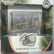matchbox collectibles 1/72 Sherman M4A3/75