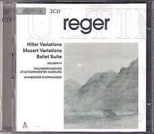 Joseph Keilberth: Max Reger Hiller MOZART Variations Ballet Suite 2cd BAMBERGER