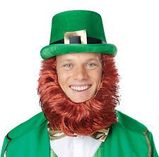 Leprechaun Lucky Charm Irish Costume Hat with Beard