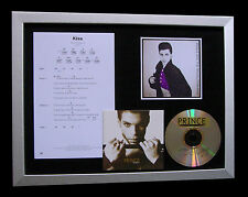 PRINCE Kiss FRAMED GALLERY QUALITY MUSIC CD DISPLAY+EXPRESS GLOBAL SHIP