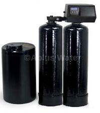 Fleck 9100 SXT Metered Twin Tank Mini Compact Water Softener 24/7 Soft Water