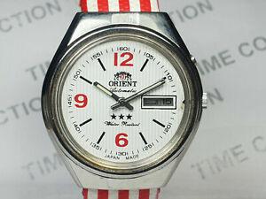 Vintage Orient Mechanical Automatic Movement Mens Wrist Watch WU309 F