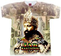 Jah Rastafari T-Shirt. . MEN'S, YOUTH and LADIES Fitted Tees. Haile Selassie