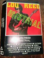 Lou Reed Mistrial Cassette Tape