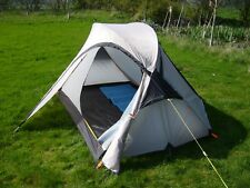 2 Man Tent - True 2 Person - Lightweight Backpacking, Camping Tent- GREY 2.75kg