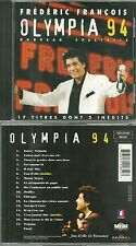 CD - FREDERIC FRANCOIS : EN CONCERT LIVE A L' OLYMPIA / COMME NEUF - LIKE NEW