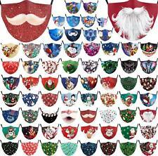 Рождественские моющиеся маска половина лицо рот марка хип-хоп cospaly партия один размер