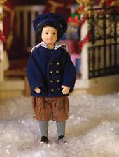 Young Boy Earl Doll, Dolls House Miniature Little Male Boy Doll 1;12 Scale