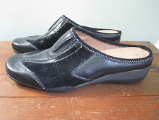 Naturalizer women's Oasis leather mule black size 8W
