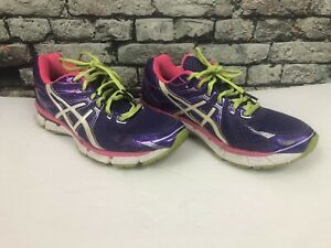 Asics Gt 2000 Purple Pink Road Running Athletic Training Mesh Women's Shoe 7.5