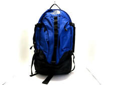 Auth THE NORTH FACE BIG SHOT Black Blue Nylon Backpack