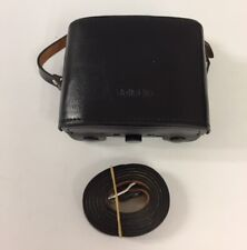 Black Hard Leather Case for Rollei 35 Free Shipping!