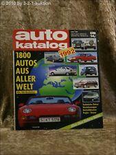 Auto Katalog Autokatalog AMS 1992 Nr. 35