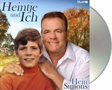 """Hein Simons """"heintje und ich"""" Standard CD NEU Album 2017"""
