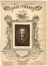 Lemercier et Cie, Paris-Théâtre, Louis Marc Adolphe Belot (1829-1890), écrivain