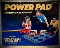 Power Pad - Nintendo NES - Instruction Manual ONLY (1988)