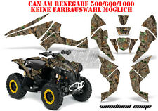 AMR Racing DECORO GRAPHIC KIT ATV CAN-AM Renegade, ds250, ds450, ds650 WOODLAND B