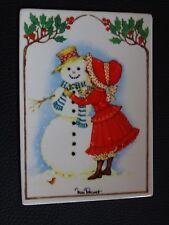 Villeroy  Boch Vilbo Card Vilbocard Schneeman Snowman