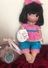 Precious Moments Doll of the World China Baby Xin W/Tag+Christmas Glass Ornament