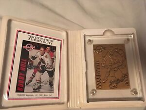 Bobby Hull Highland Mint Sports Collection Mint-Card