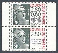 FRANCE - paire Timbre P2934A Neuf** TB avec gomme d'origine (cote 4,50 euros)