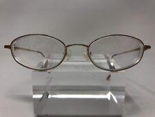 1dd787086601 Elizabeth Arden Eyeglasses EA PT 144 47-18-130 White Gold Bronze Oval