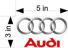 AUDI logo car / vehicle decals/stickers