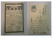 scherzkarte militär 1911 r.oben eckknick