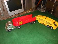 Vintage Structo Truck Pressed Steel Toy Steel & Auto Transport Trailer