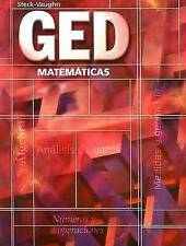 USED (GD) GED Matematicas  (Spanish) (Spanish Edition) by Steck-Vaughn Company