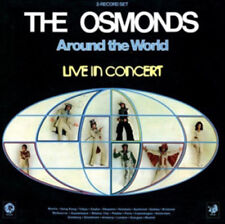 The Osmonds : Around the World: Live in Concert CD (2012) ***NEW***