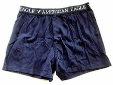 MENS AMERICAN EAGLE OUTFITTERS NAVY BLUE BOXER SHORTS SIZE S 29-31
