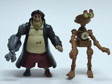 Disney Treasure Planet Loose Figure Lot Of 2 McDonalds Pirates
