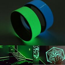 3cmX100cm Luminous Self-adhesive Glow Waterproof Light Glue Tape For Car Warning