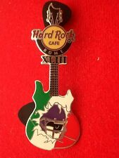 HRC Hard Rock Cafe Rome Rome Roma Super Bowl XLIII Guitar 2009 le250
